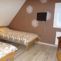 chambre de deux lits 90X200