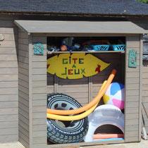 le gîte à jeux, gite au petit cosy, Normandie, Eure