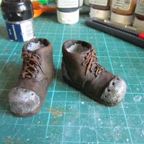 Chaussures en Sculpey