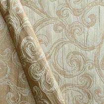 Портьерная ткань жаккард, артикул FIORE; цвет 202; высота 280 см; состав 100% полиэстер