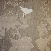 Портьерная ткань артикул 812359 Aubrey, ширина 140 см, состав: 80% полиэстер, 20% лен