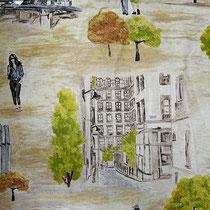 Park avenue, ширина 280 см; состав: 43% хлопок, 57% полиэстер; плотность 230 г/м2; раппорт 64х280 см; направление рисунка по ширине