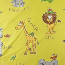 Портьерная ткань JUNGLA, цвет: 3150 Страна: Испания Состав ткани: 35% хлопок, 65% полиэстер Высота: 280 см