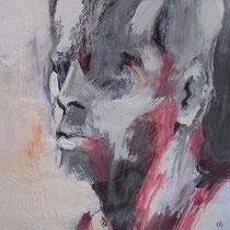 Acrylique et pastel sur papier 29,7 x 42