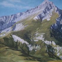 huile sur toile 100 x 100 2007