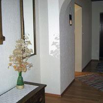 Eingangsbereich der Ferienwohnung