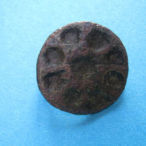 schijffibula met kruismotief (9e/10e eeuw)