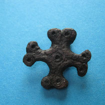 Kruisvormige schijffibula (8e/9e eeuw)