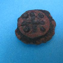 plateau schijfibula met kruisvorm(11e eeuw)