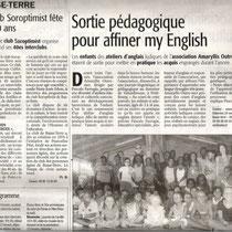 Sortie pédagogique au domaine de Valombreuse, à Petit-Bourg