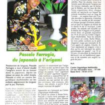 Pascale Farrugia, du japonais à l'origami