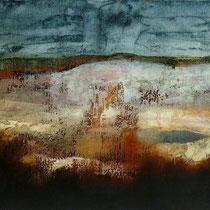 LANDSCAPE - huile / toile 80x40 cm   2015