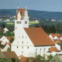 Wittislingen/ Bayern, Kirche St. Ullrich Martini