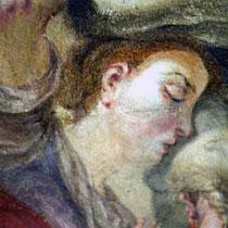 Detail nach der Retusche