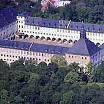 Gotha, Schloss Friedenstein, Luftansicht
