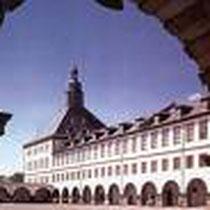 Gotha, Schloss Friedenstein, Schlosshof