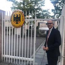 Botschaftsrat Hans Koeppel