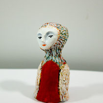 Bird clay doll