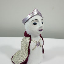 Queen clay doll