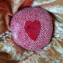 Nr.21 Herzensgüte - sei gütig zu dir selbst und den anderen / 8 x 8 cm / 39,- € inkl. Versandkosten