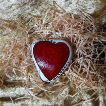 Nr.22 Herzkraft - lass die Liebe fließen / 9 x 8 cm / 29,- € inkl. Versandkosten