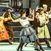 Musicaldarstellerin Melanie Oster am Theater Erfurt