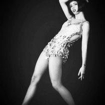 Melanie Oster als Showgirl und Tänzerin, Foto Sarah Weber