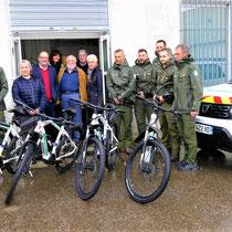 Acquisition de Vélos à Assistance Electrique par les Brigades Vertes - TERRITOIRE THUR DOLLER