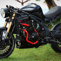 café racer speed triple