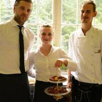 Veganes 10 Gänge Catering Geburtstags Dinner auf Schloß Heinrichshorst