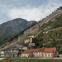 Das ehemalige Bergwerk Raibl