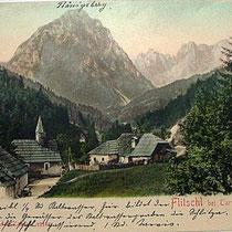 Flitschl bei Tarvis 1911