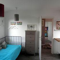 Ferienzimmer 1 (Blick auf Flur und Ferienzimmer 2)