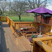 Balkon für Ferienzimmer