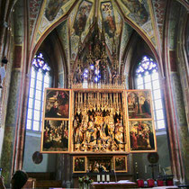 Altar St. Wolfgang  Wolfgangsee Salzkammergut Österreich