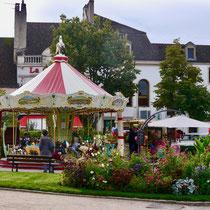 Frankreich Stadt und Gartenreise nach  Beaune im Burgund