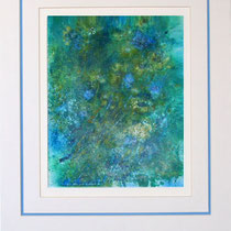 Nr.5/11  Aquarell auf Büttenspezialpapier  Fin Art 65x50 cm inkl. Karton - Passepartout,  Glas, Metallrahmen Gold eluxiert, mit Rückwand  € 360,-