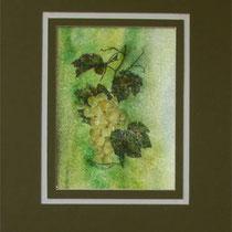 Nr. 3/017  Acryl  auf Büttenspezialpapier  Fin Art 50x40 cm inkl. Karton - Passepartout  €  150,-