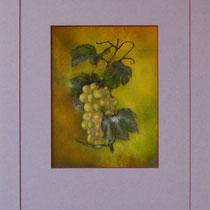 Nr. 3/018  Mischt. auf Büttenspezialpapier  Fin Art 50x40 cm inkl. Karton - Passepartout  €  150,-