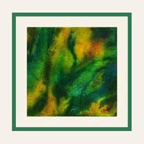 Nr.14/07   Mischt.  auf  Aquarell auf Büttenspezialpapier 49,5x49,5 cm inkl. Karton- Passepartout  € 140,-
