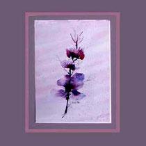 Nr.90/05  Bl.  Aquarell auf Büttenspezialpapier Fin Art 60x50 cm inkl. Karton - Passepartout  € 230.-