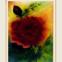 Nr.97/17   Aquarell auf Büttenspezialpapier Fin Art 80x60 cm inkl. Karton - Passepartout  € 250,00