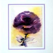 Nr.87/02   Aquarell auf Büttenspezialpapier Fin Art  80x60 cm inkl. Karton - Passepartout  € 290.-