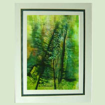 Nr.14/07   Aquarell auf Büttenspezialpapier  Fin Art 62x50 cm inkl. Karton - Passepartout  €  260,-