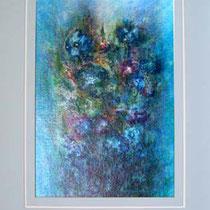 Nr. 1/02  Aquarell auf Büttenpapier  Fin Art 80x60 cm inkl. Karton - Passepartout, Glas, Metallrahmen Bronz eluxiert, mit  Rückwand   € 650,-