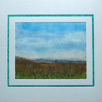 Nr.14/17  Aquarell auf Büttenspezialpapier  Fin Art 50x40 cm inkl. Karton - Passepartout  €  180,-