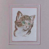 Nr. 16/30  K.II  Aquarell auf Büttenspezialpapier  Fin Art 50x40 cm inkl. Karton - Passepartout  €  180,-