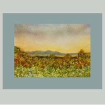Nr.87/0   Aquarell auf Büttenspezialpapier  Fin Art 50x40 cm inkl. Karton - Passepartout  €  270,-