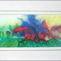 Nr. 7/06    Aquarell auf Büttenspezialpapier  Fin Art 44x29 cm inkl. Karton - Passepartout  €  160,-