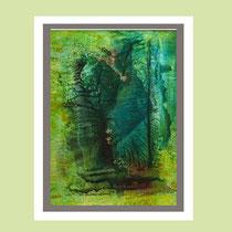 Nr. 15/13  Mischt.  auf  Aquarell auf Büttenspezialpapier   60x50cm inkl. Karton- Passepartout  € 260,-